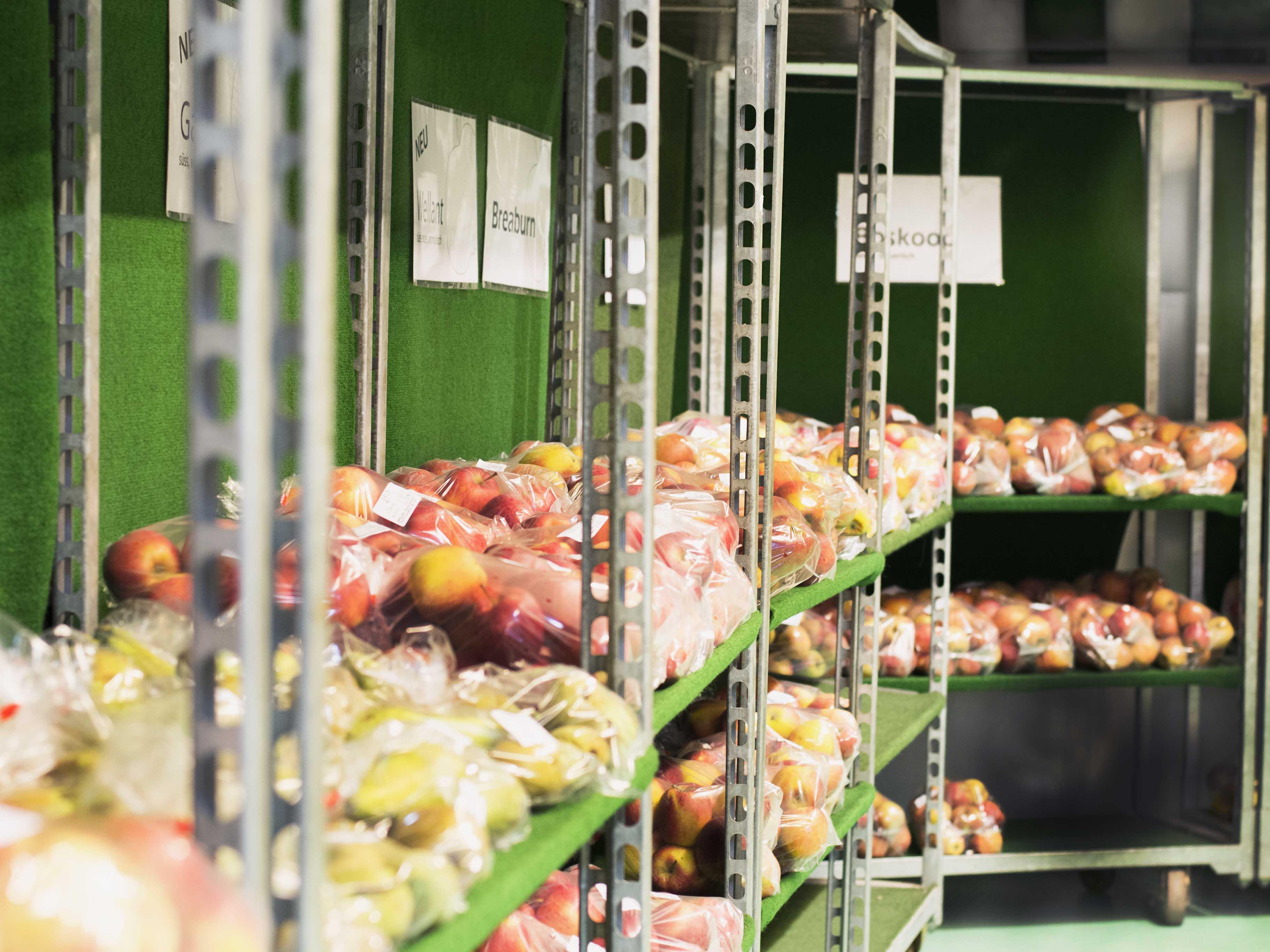 Apfelverkauf Appelhof Windeck