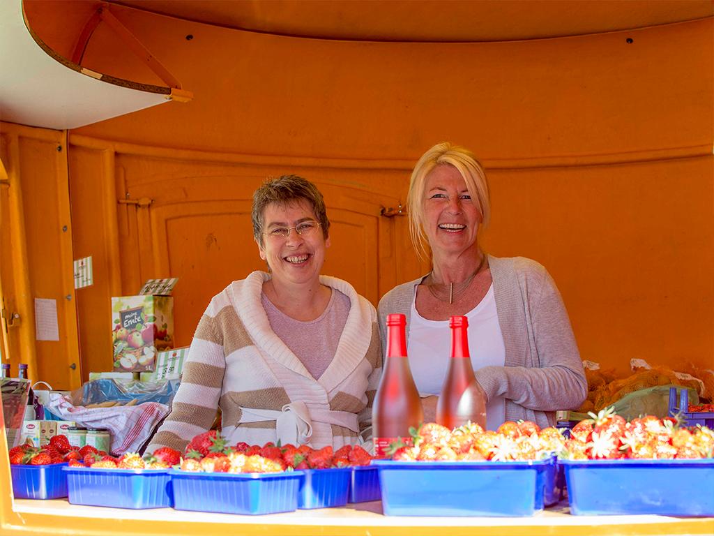 Appelhof | Verkaufsstelle | Erdbeerkauf