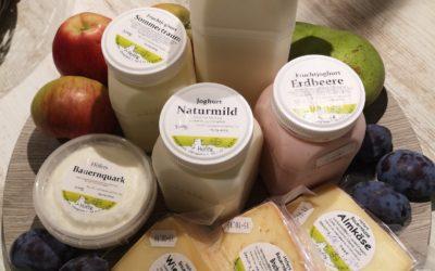 Endlich frische Milchprodukte!